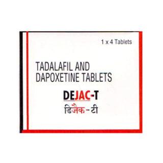 Tadalafil & Dapoxetine (Dejac - T) 10/30 mg Tablet