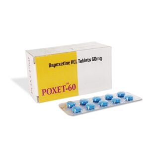 Dapoxetine (Poxet 60) 60 mg Tablet-CT