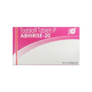 Tadalafil (ABHIRISE) 20 mg Tabs